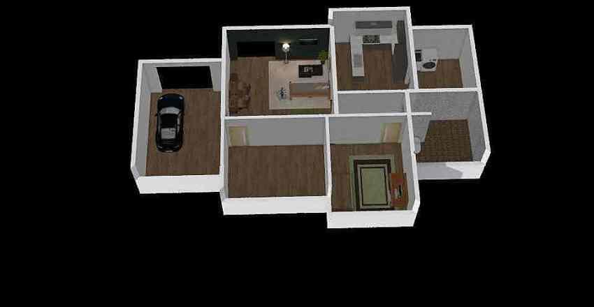 přízemní dům 1 Interior Design Render