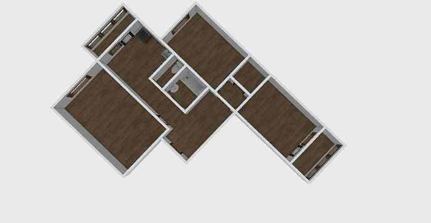 3-комн_0222 Interior Design Render