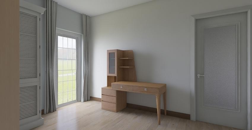 Appartamento via Pirandello Interior Design Render