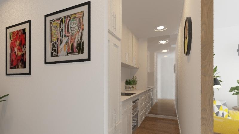 Modern flat v.1  Interior Design Render