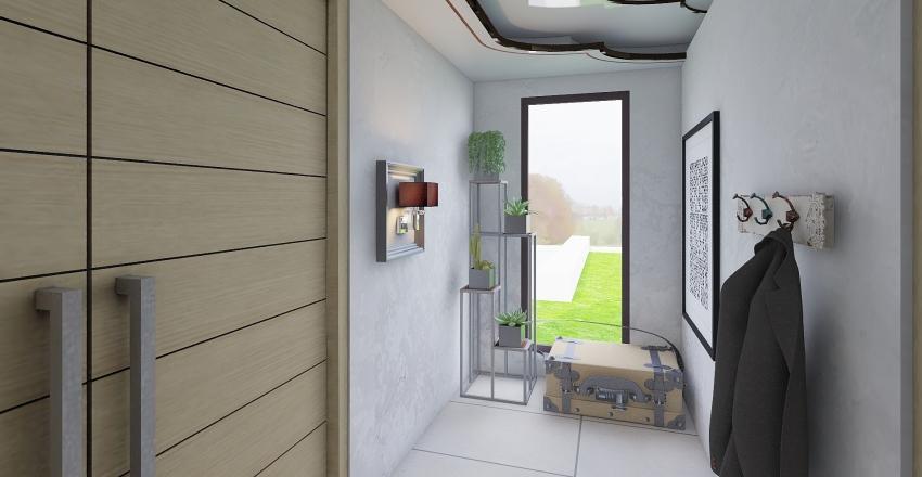 Modern Country Interior Design Render