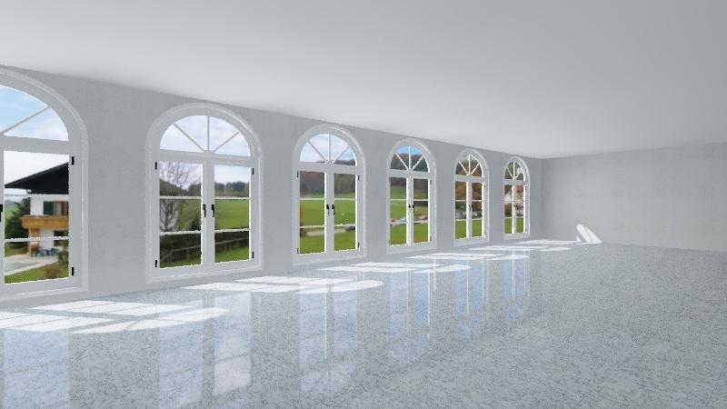Basic SKYLINE Classroom Interior Design Render