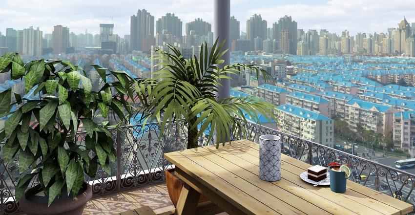 retaj flat Interior Design Render