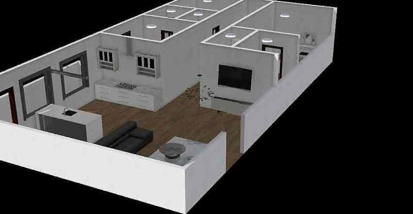 Floor Plan #2 Interior Design Render