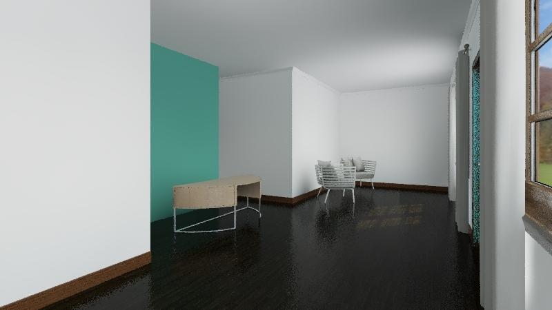 aesthetic Interior Design Render