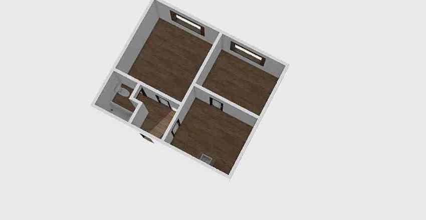 2-комн_0325 Interior Design Render