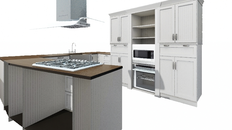 Cocina-primera idea Interior Design Render