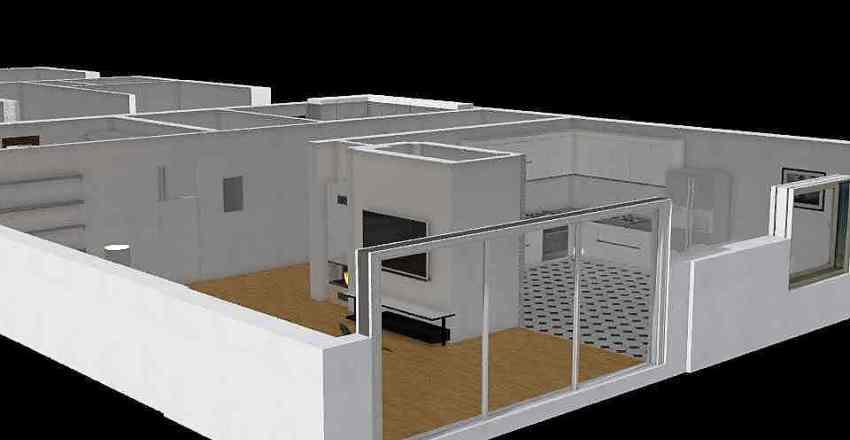 niklowa 2 przebudowa Interior Design Render
