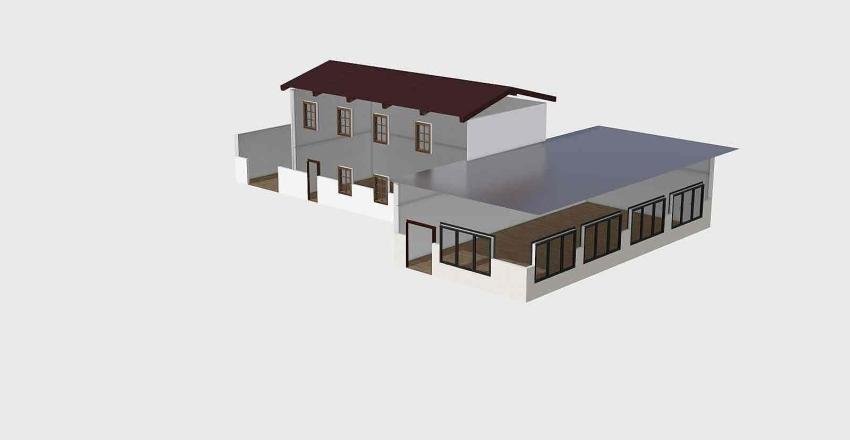 cantina Interior Design Render