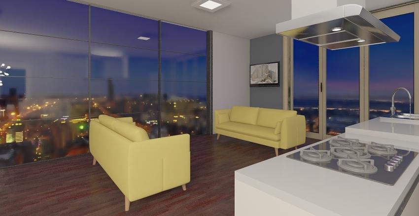 Second Interior Design Render