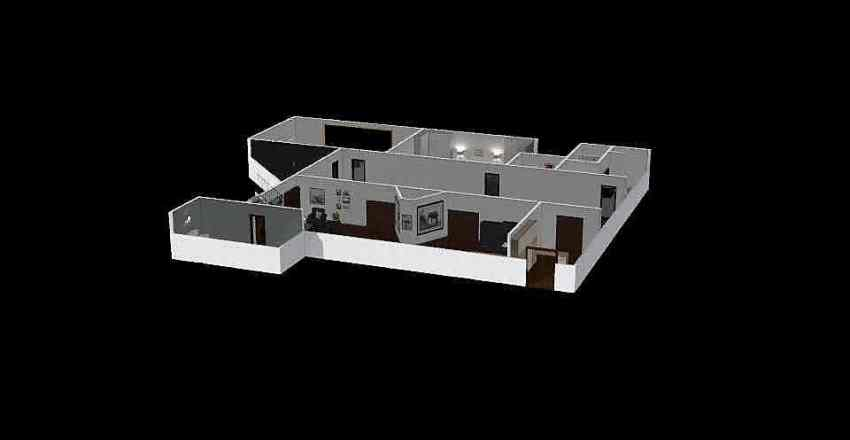 dům 2 kejrja Interior Design Render