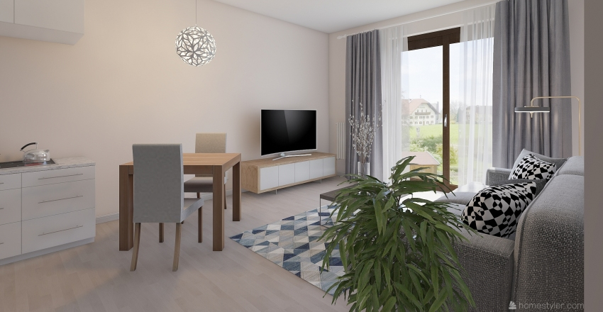 Czarna Interior Design Render