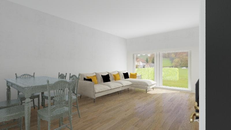 Bizim Tepe Aydos Bahçe Katı Salon Interior Design Render