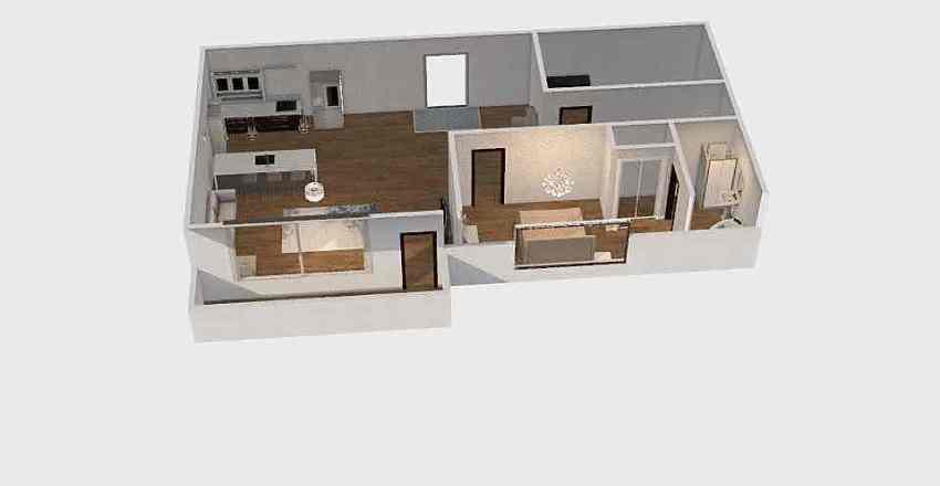 Floor Plan #1 Interior Design Render