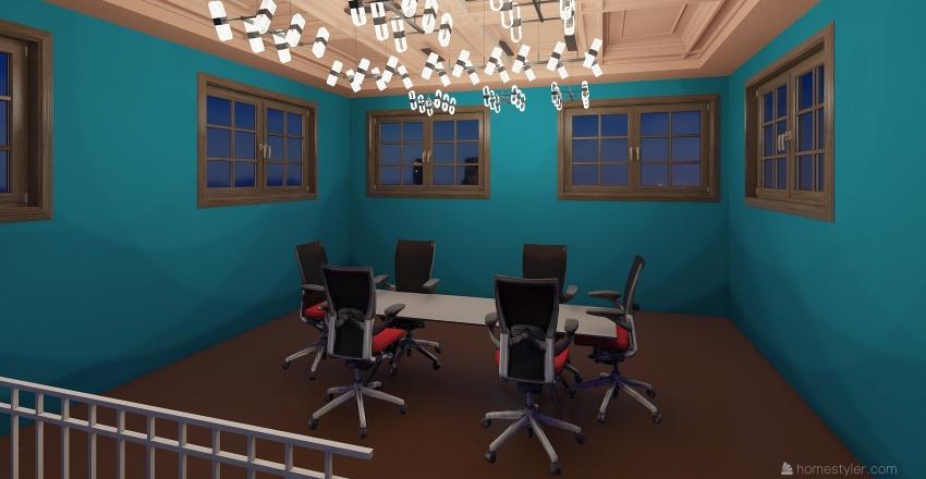 advertising company  Interior Design Render