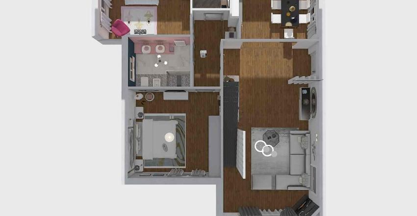 CAIULO - senza tetto Interior Design Render