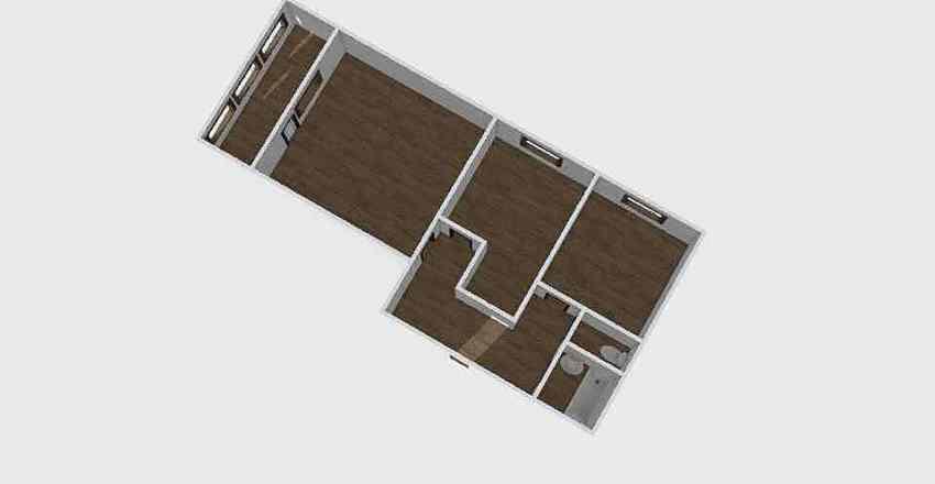 2-комн_0326 Interior Design Render