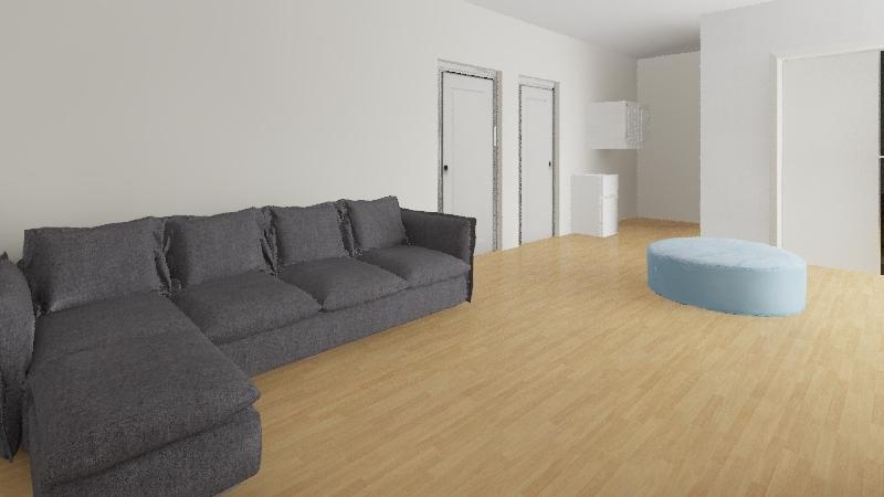 Lukion aula Interior Design Render