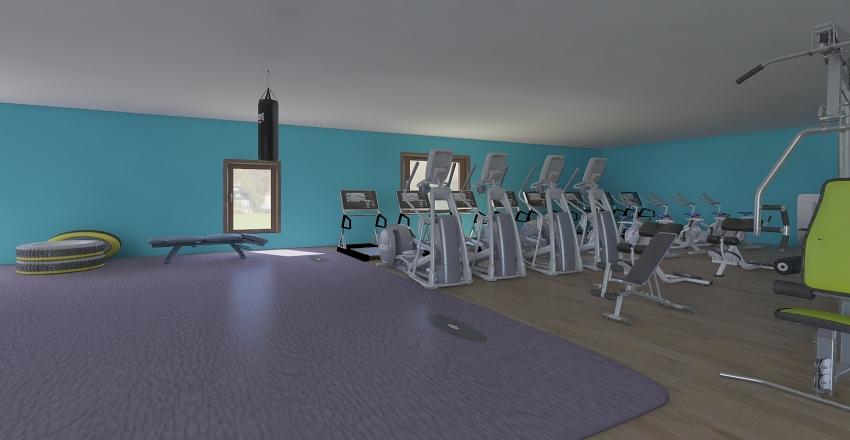 academia lifi styl Interior Design Render