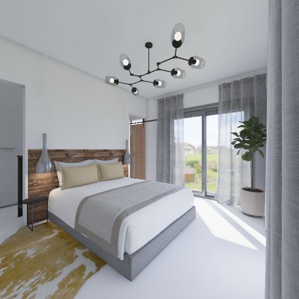 satna a loznice Interior Design Render
