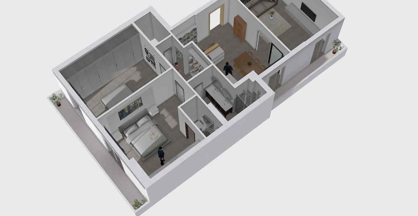 Agliottone Progetto Interior Design Render