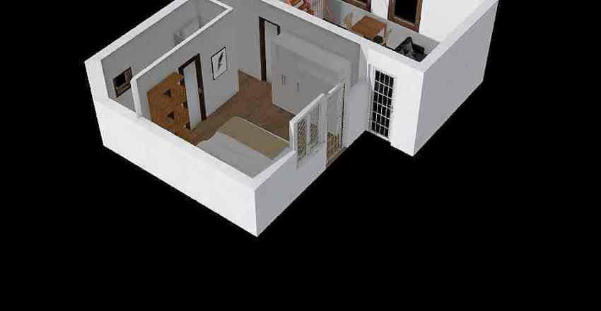 chatka 2019 II prizemie Interior Design Render