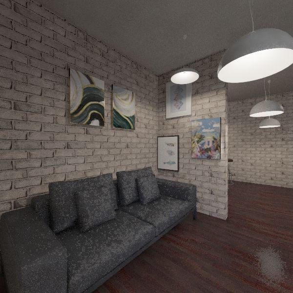 Pain Interior Design Render