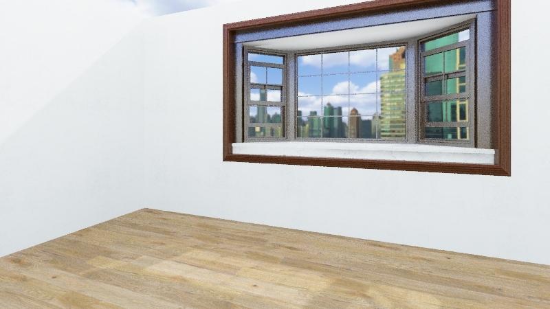 Parker's Room Interior Design Render