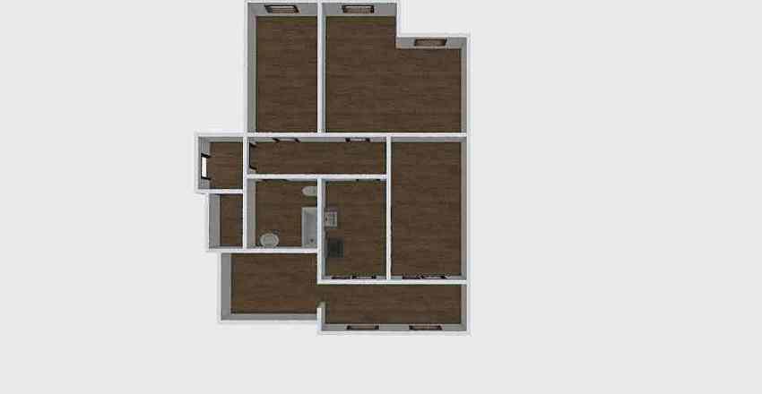 3-комн_0223 Interior Design Render