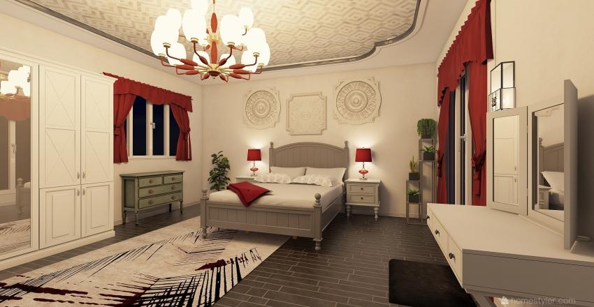bedroom Dano Interior Design Render