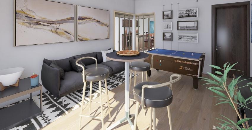 Lote Ing. Luis Esquivel PB Interior Design Render