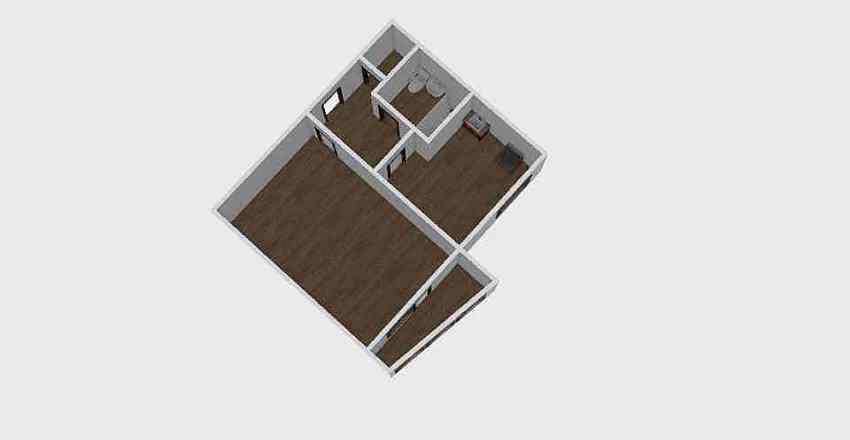 1-комн_022_25 Interior Design Render