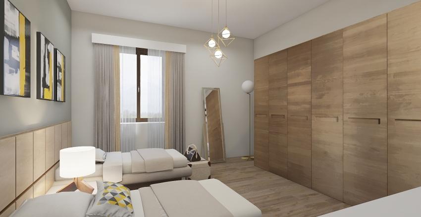 Colella_Appartamento a Napoli Interior Design Render