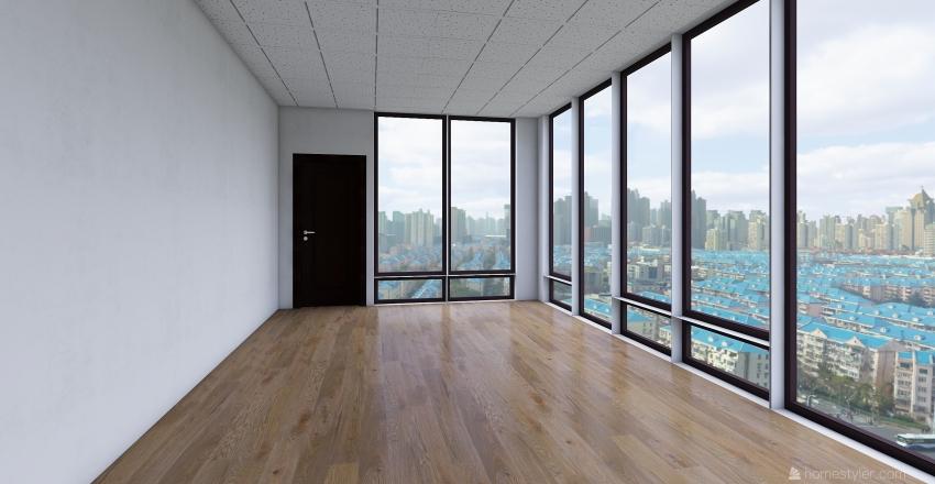 киоск Interior Design Render