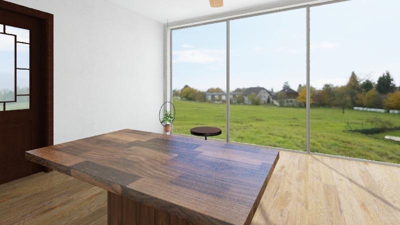 Dianellys Art Room Interior Design Render