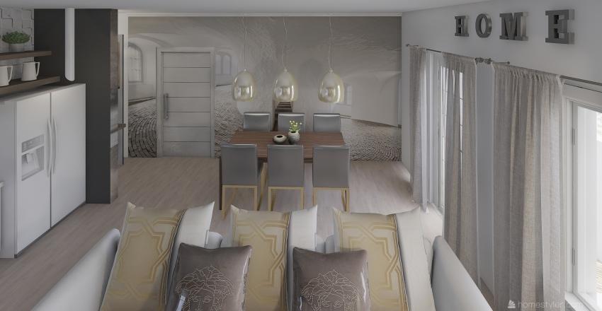 MINI APPARTAMENTO Interior Design Render