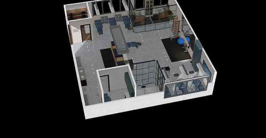 AT room Interior Design Render