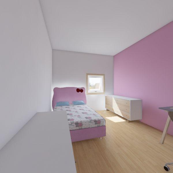 otroška 1 Interior Design Render