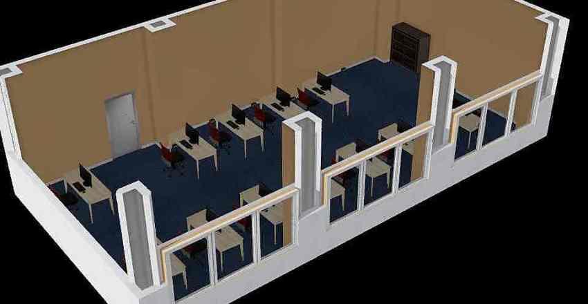 Sala nr. 211 CKZ Interior Design Render
