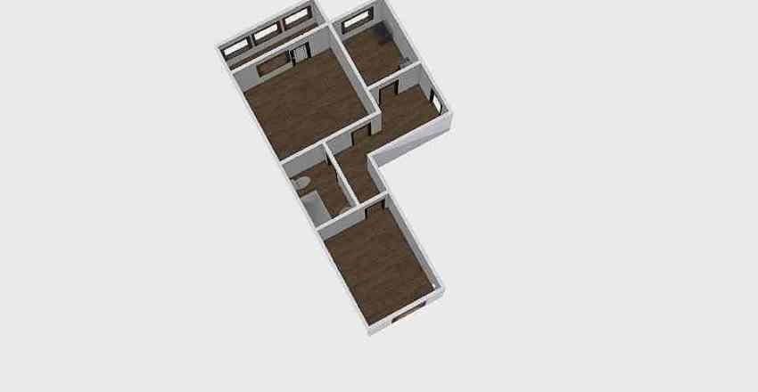 2-комн_0327 Interior Design Render