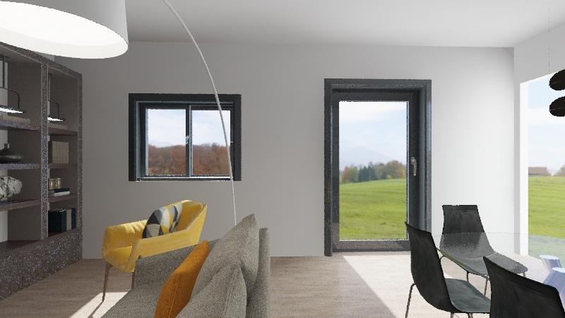salotto d'oria diego Interior Design Render