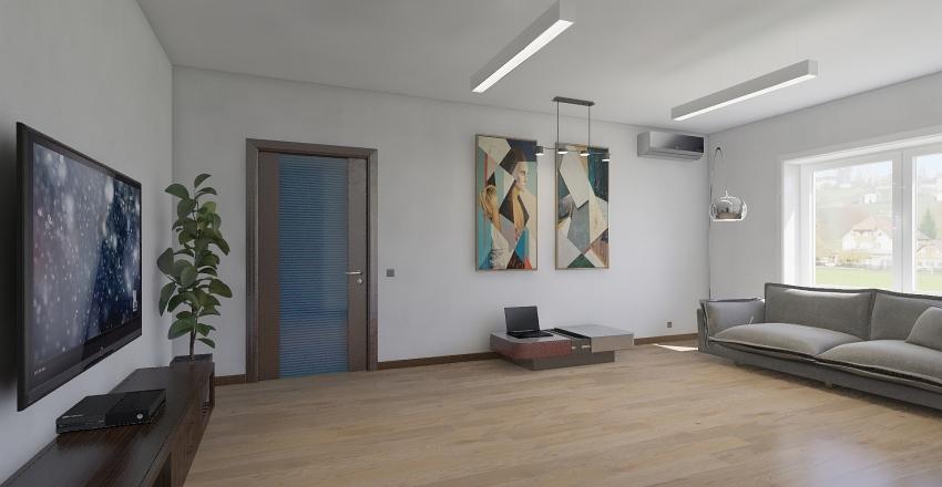 Учебная квартира №1 Interior Design Render
