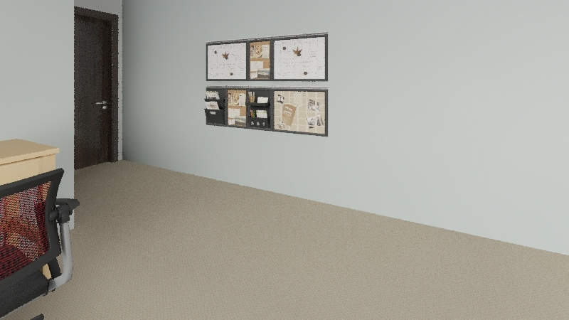 Classroom STEMED 411 Interior Design Render