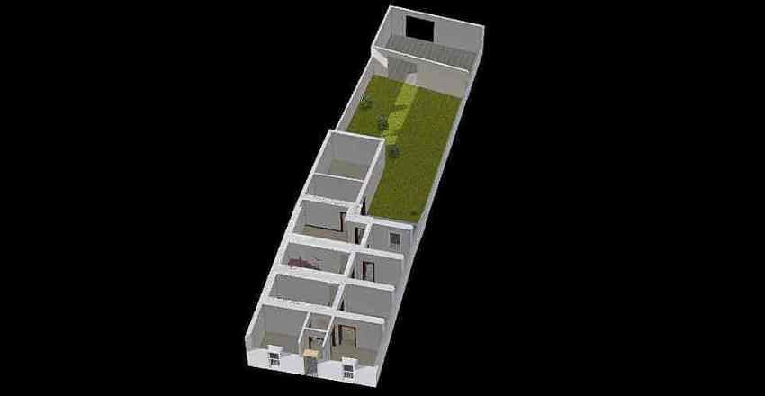 Casa Pueblo Interior Design Render