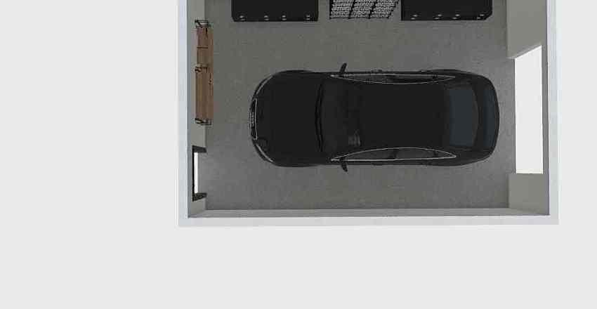 ROOM PLANNING - 1 Car Garage Interior Design Render