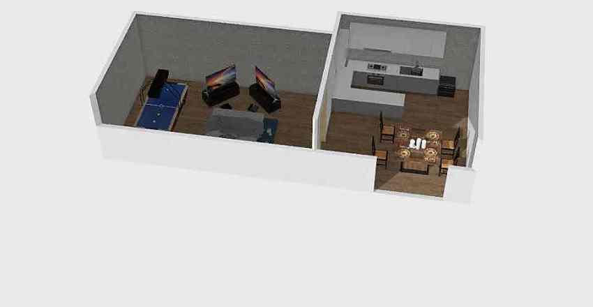 party Interior Design Render