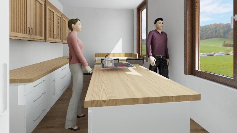 Küche Interior Design Render