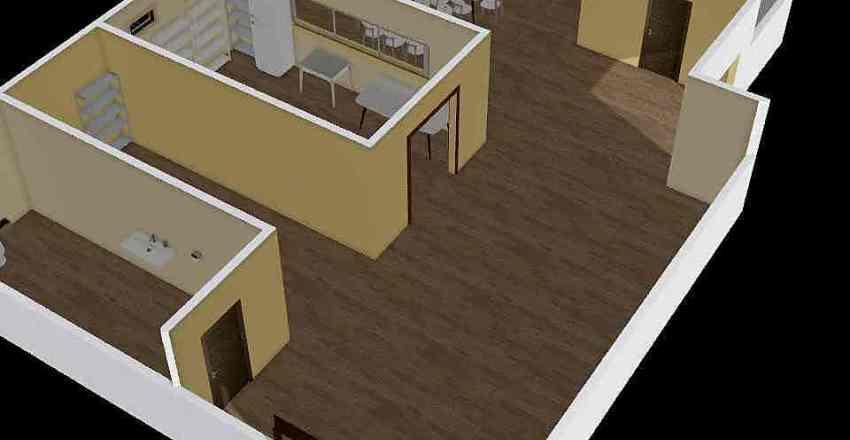 COMEDOR INDIGENA  Interior Design Render