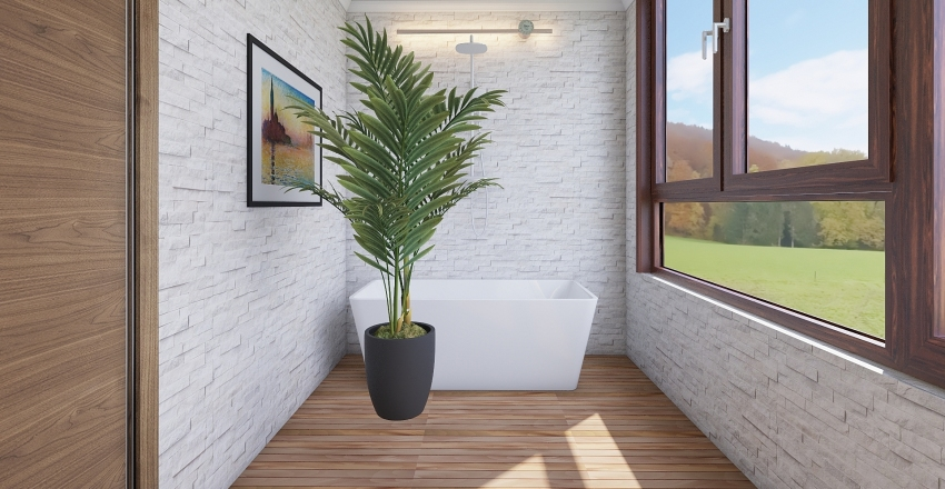 Apartman Interior Design Render