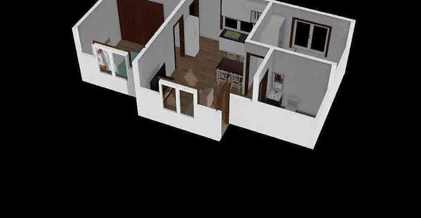 43m2  Interior Design Render